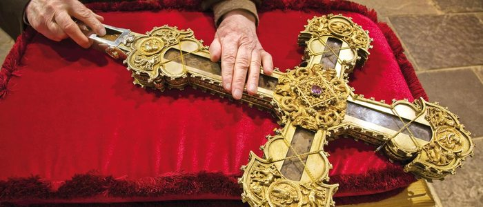 Reliquia del Lignum Crucis.