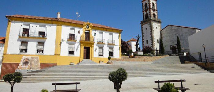 Plaza Lope de Vega, Fuente Obejuna.