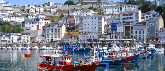 Puerto de Luarca, Asturias.
