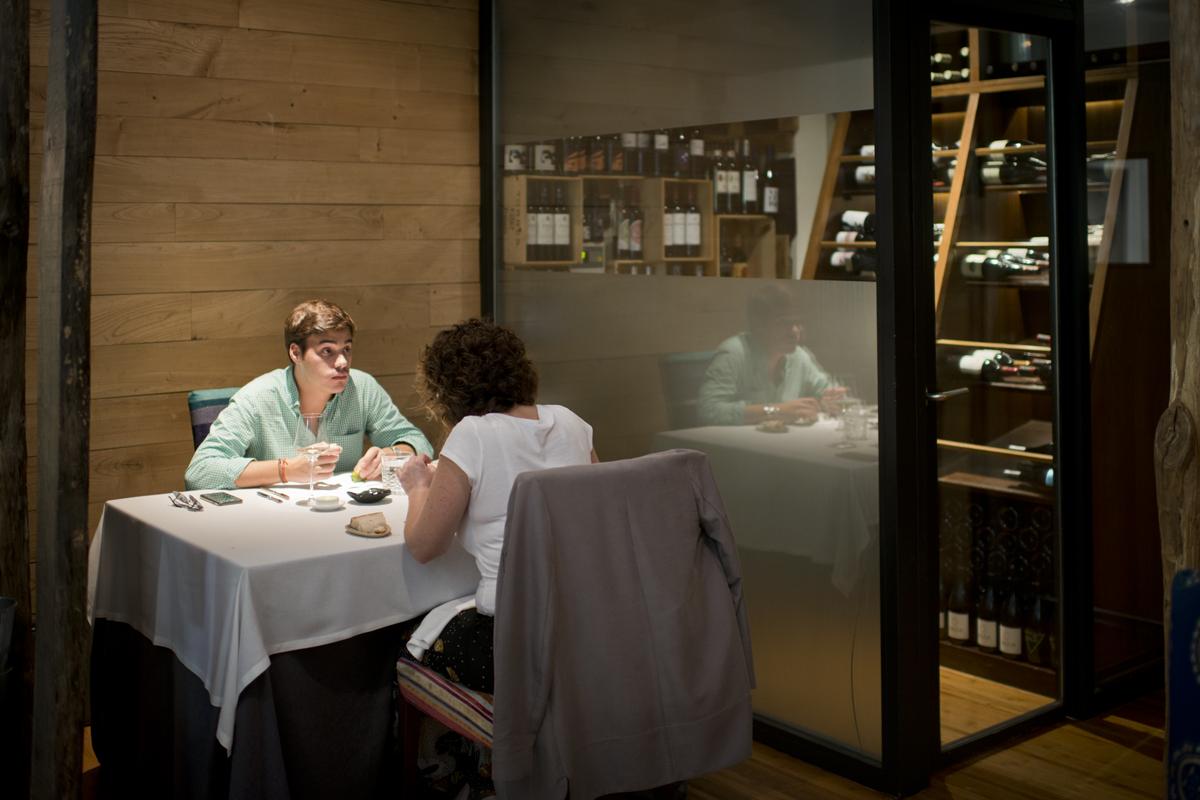 Mesa en restaurante Lúa en Madrid