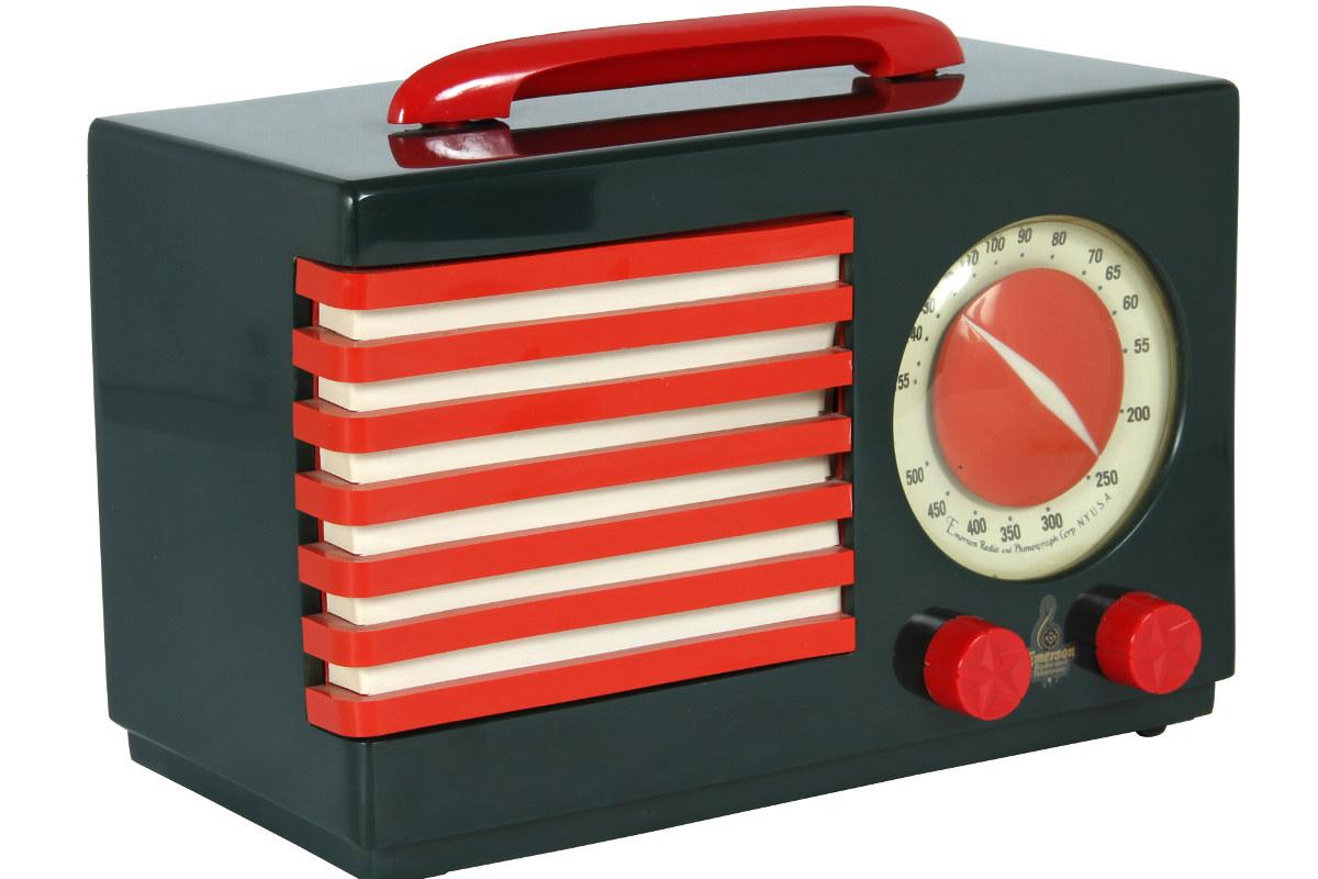 Radio Patriot, un diseño de 1940. Foto: MDF.