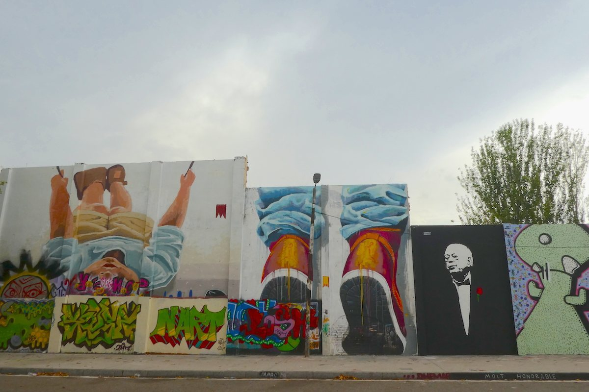 La obra de gran formato 'Molt Honorable', de la artista La Castillo.