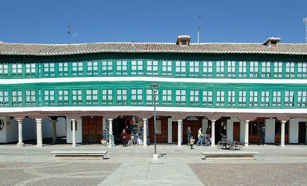 Plaza de Almagro.