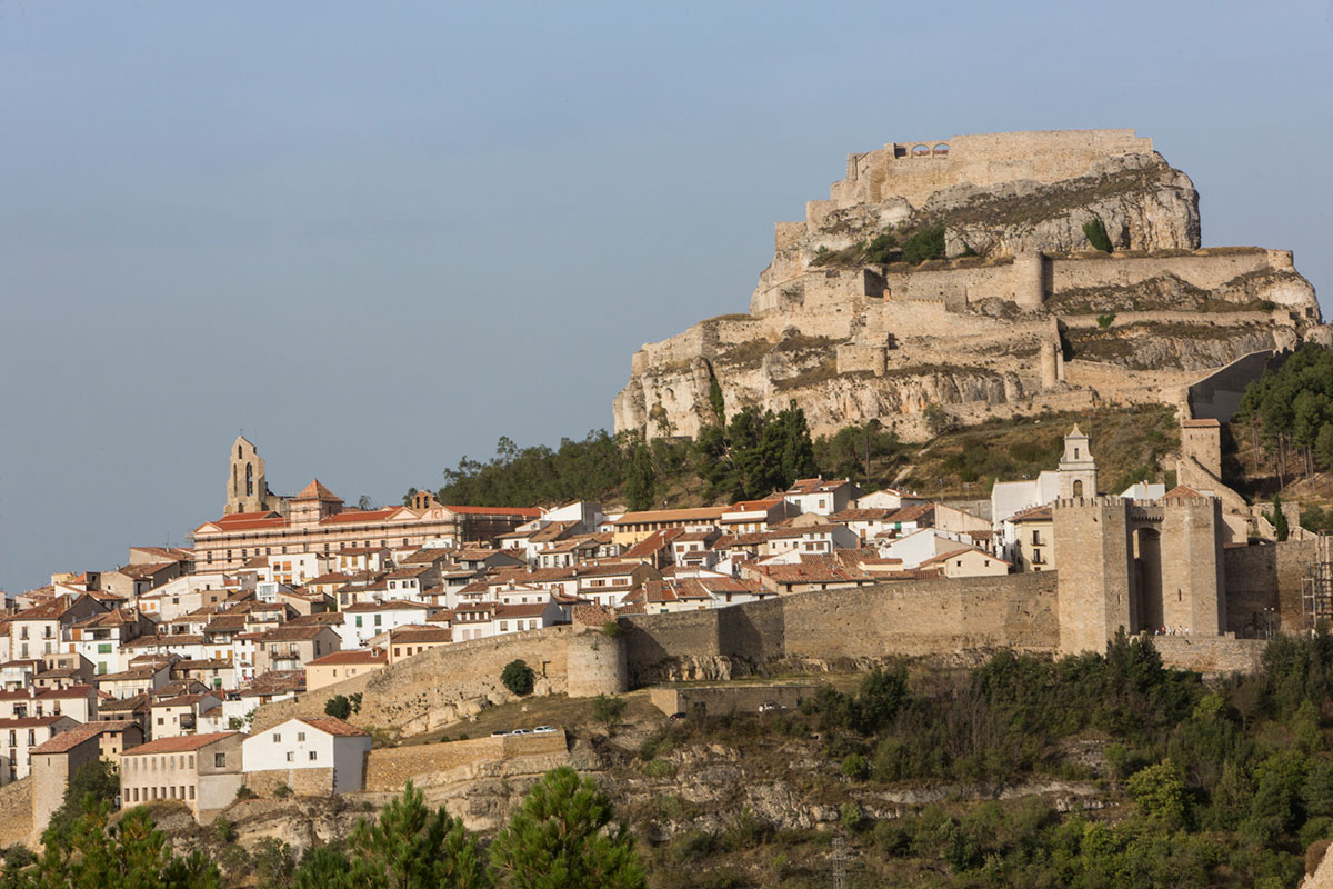 Vista de Morella,en la Comunidad Valenciana.