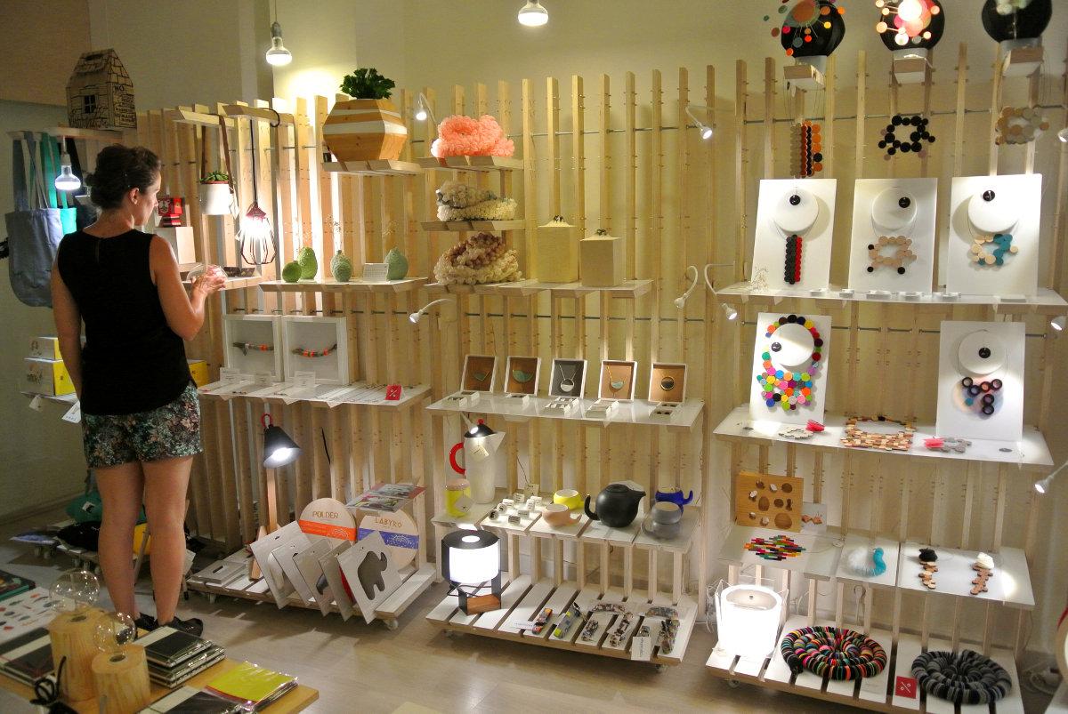 'Estudio Ji', un espacio consagrado al diseño. Foto: Camino Martínez.