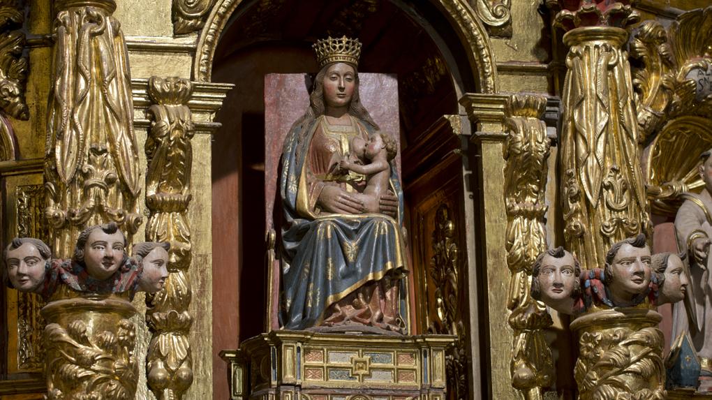 La talla, robada durante ocho años, ocupa de nuevo su trono desde 2001.