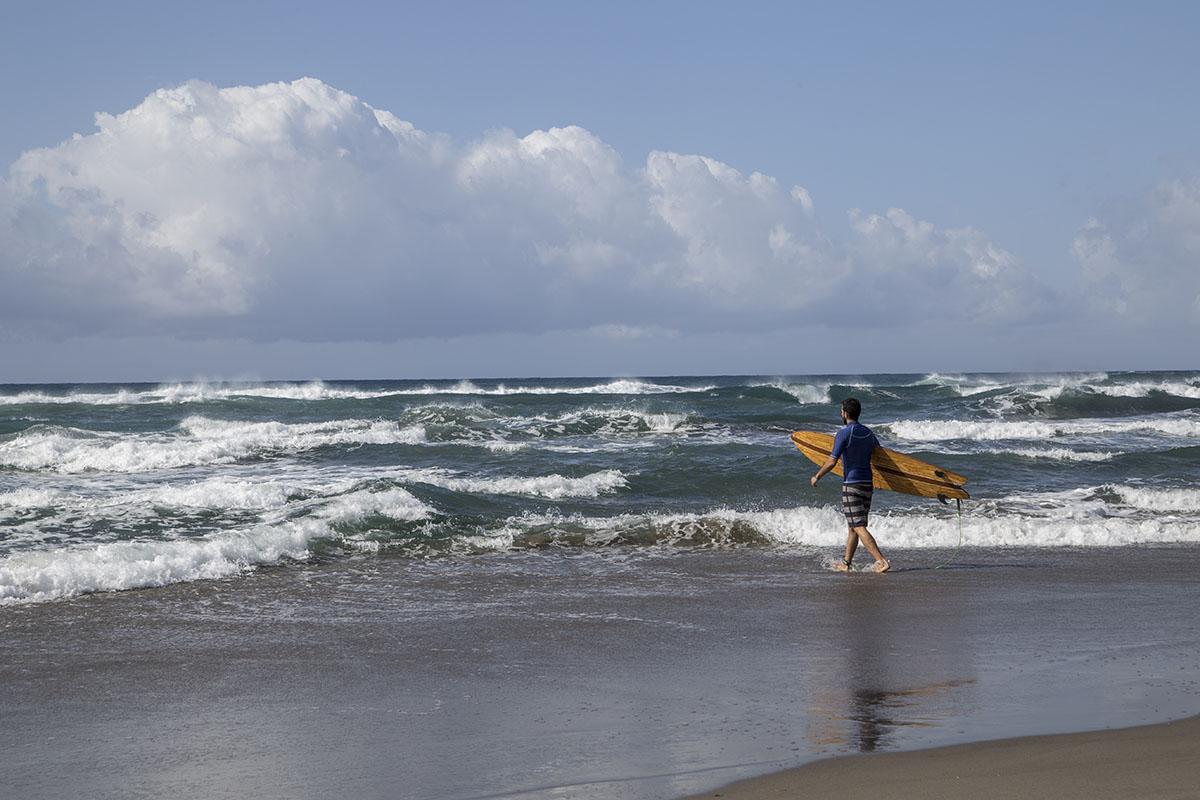 El surf puede ser una buena opción.