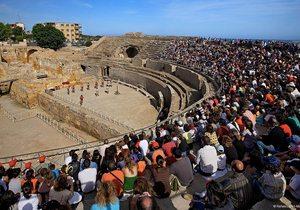 Anfiteatro romano. / Autor: Rafael López-Monné. / Cedia por: Turisme de Tarragona.