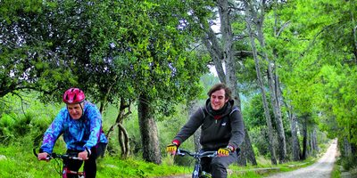 Sant Jeroni de Cotalba es perfecto para un recorrido en bicicleta.