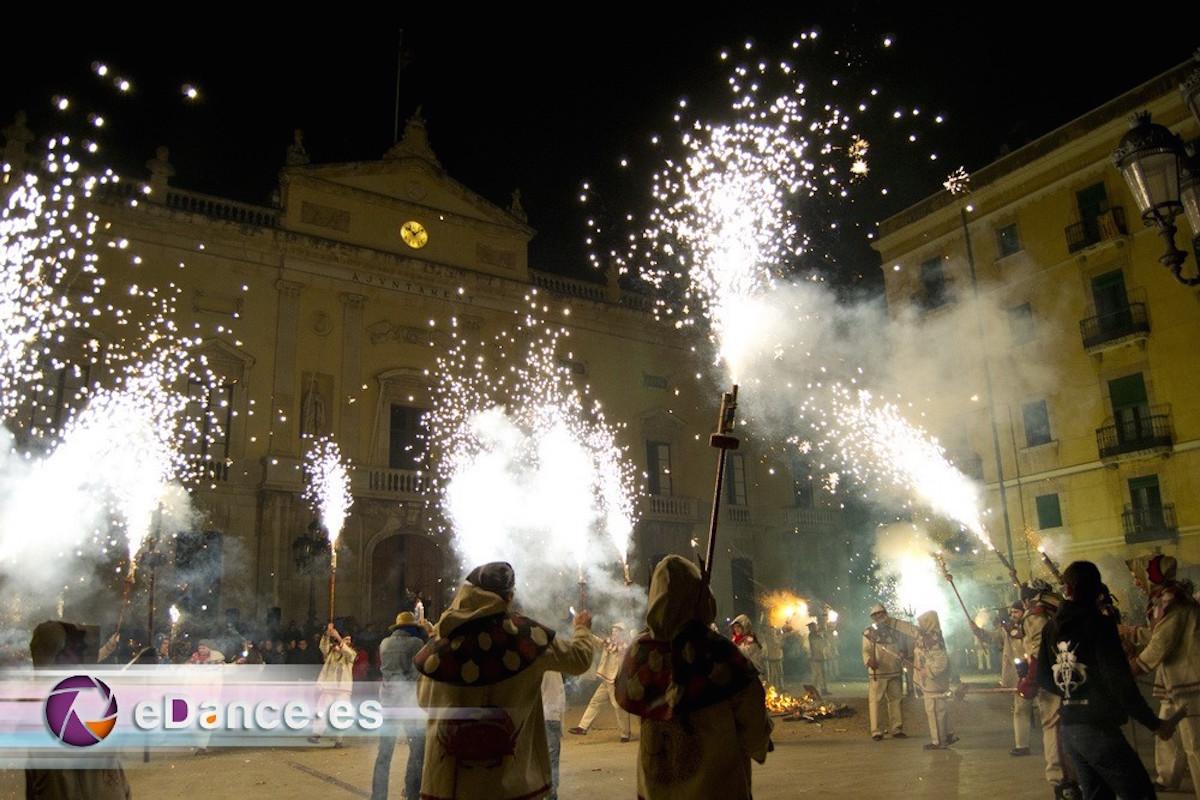 Noche de la cremá en Tarragona. Imagen cedida por: Carnaval de Tarragona.