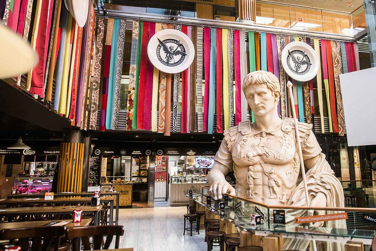 El Tubo, Zaragoza: Mercado Puerta Cinesia. Foto: Raquel Jiménez