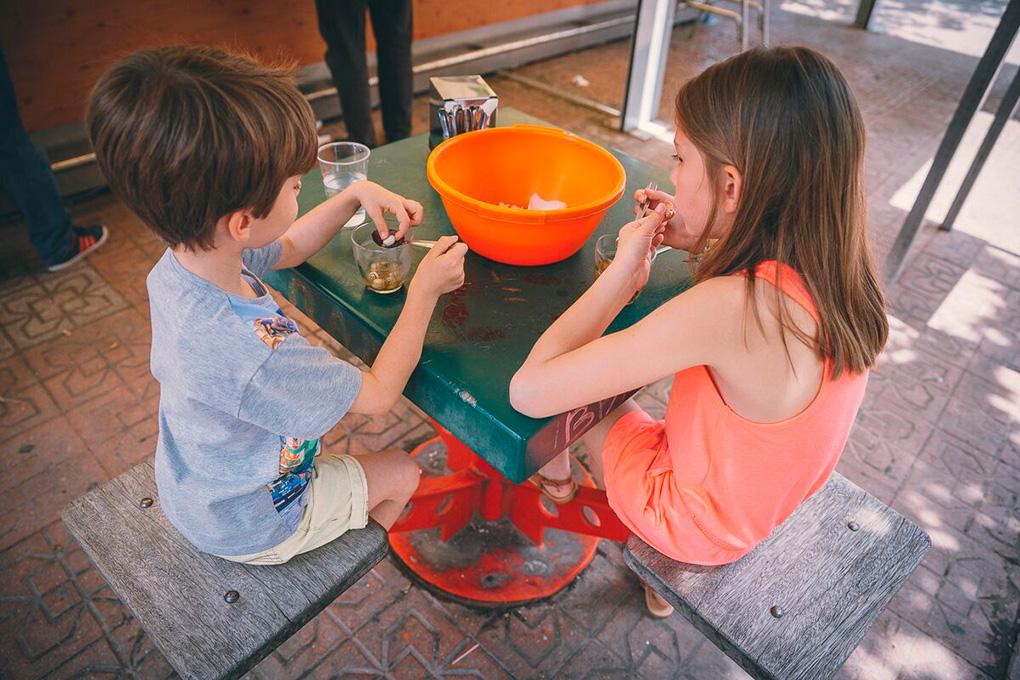 En Córdoba, los niños disfrutan de este manjar tanto como el resto.