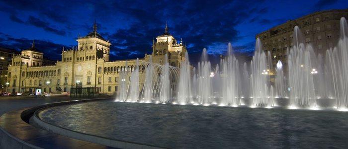 Plaza de Zorrilla. Foto: Luis Laforga.