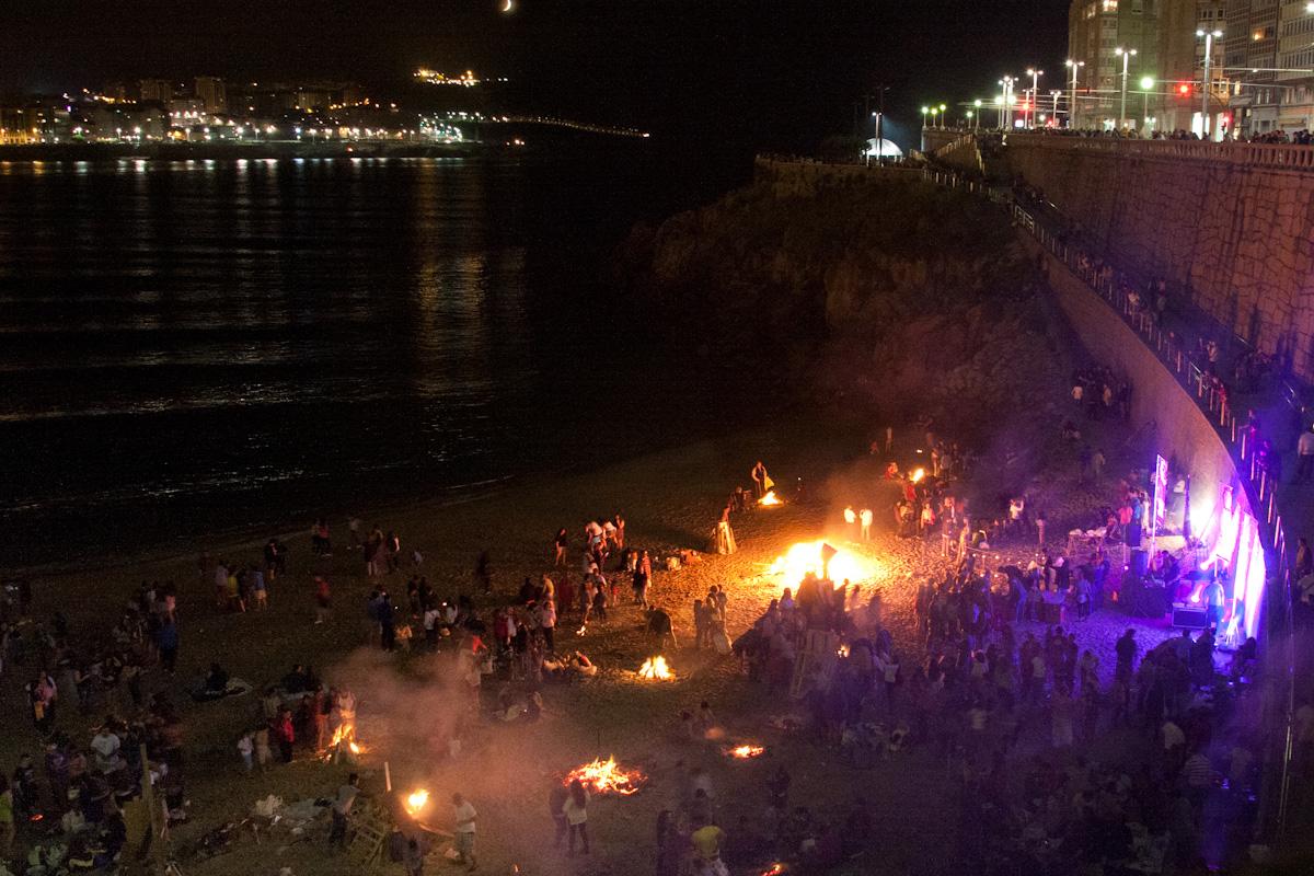 Concierto en la playa del Matadero. Foto: Carlos de Paz, Flickr.