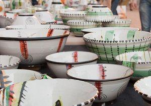 Feria Cacharrería en la plaza Comendadoras. / CC Flickr Michael mi)