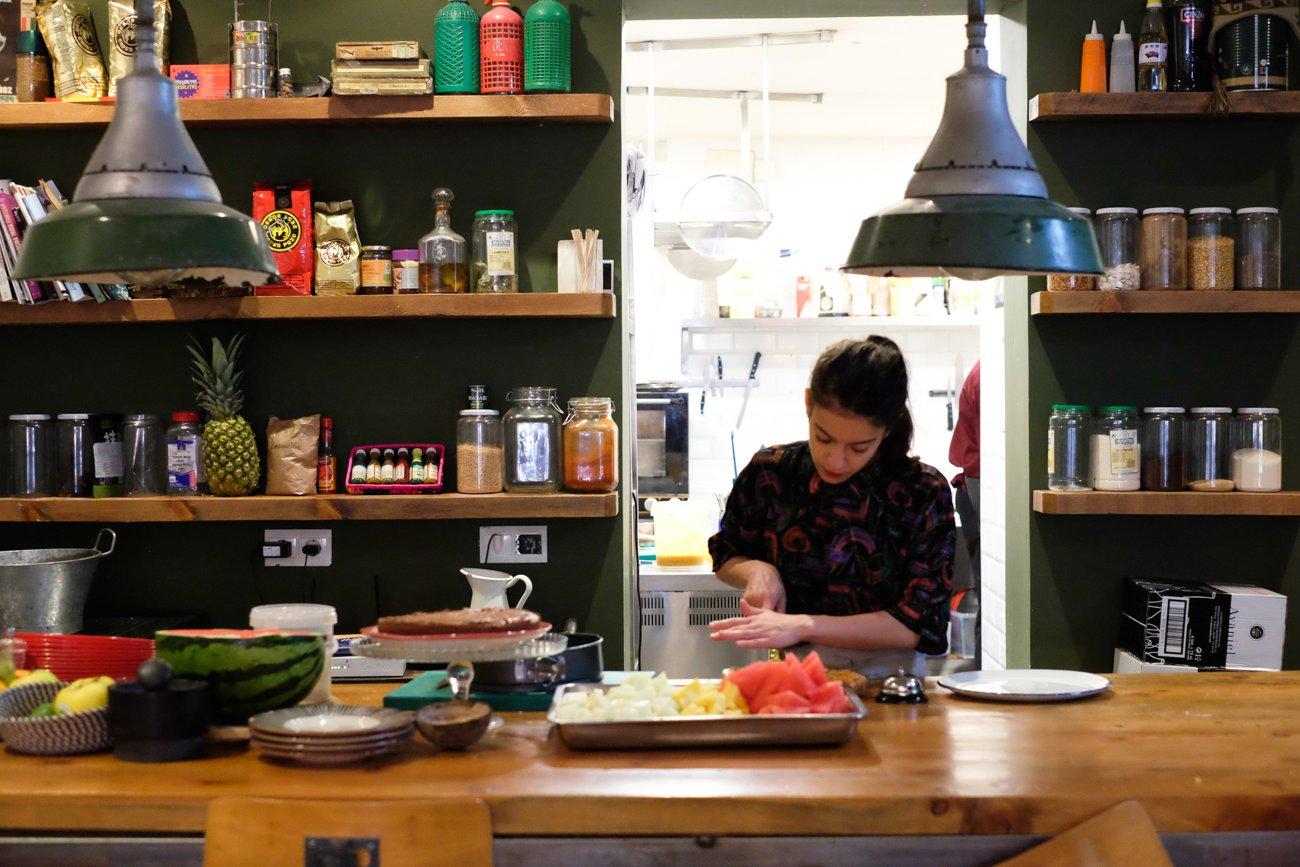 'Casa Jaguar': zona de cocina