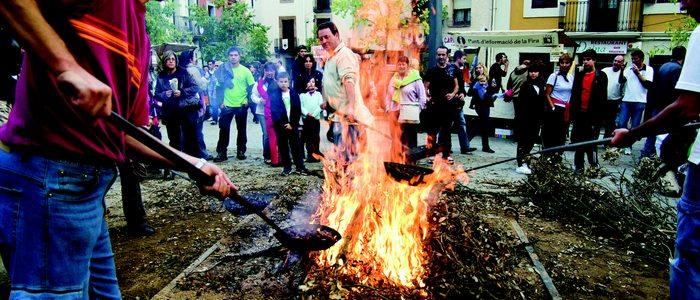 Fiesta de las castañas en Viladrau.