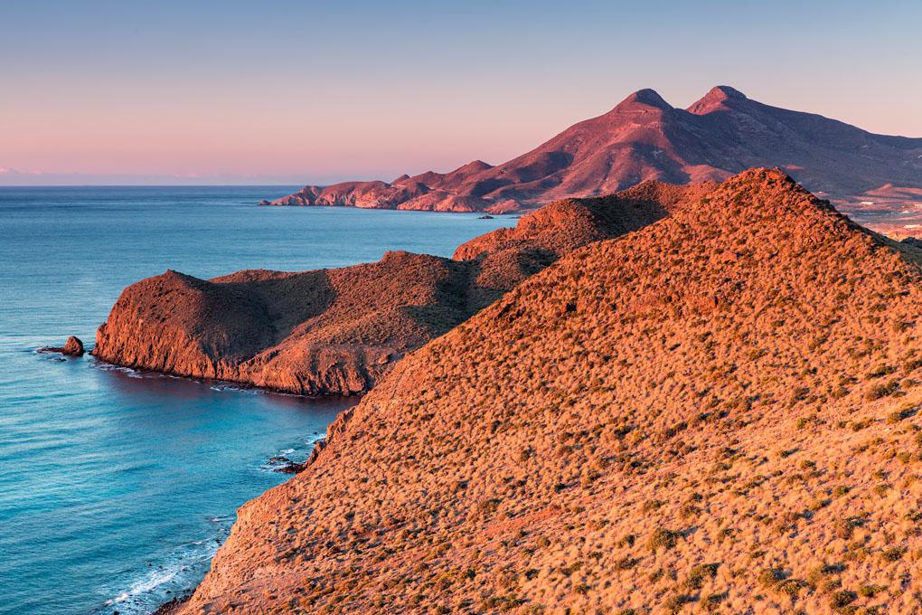 El contraste de colores desde el mirador de la Amatista. Foto: shutterstock.com
