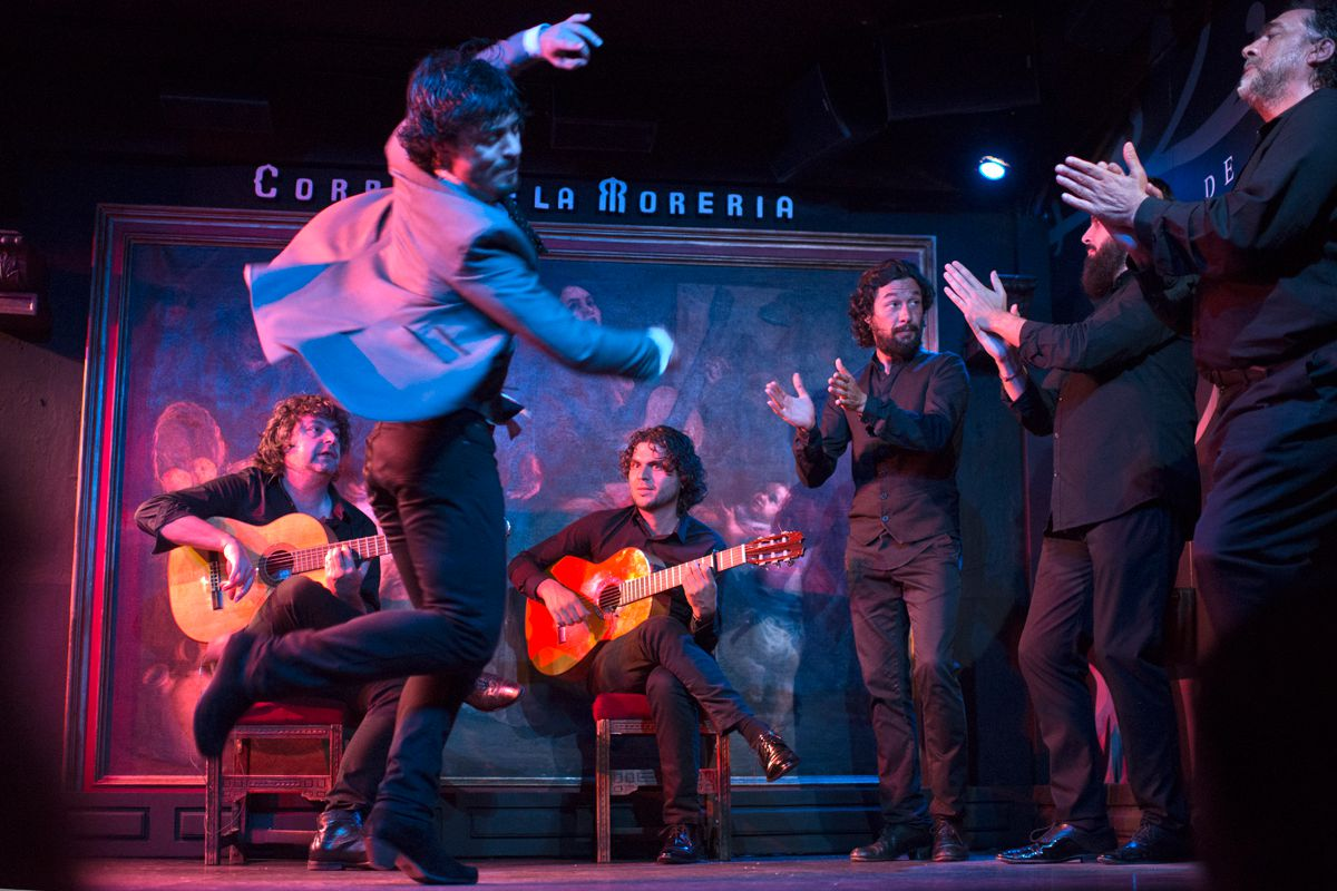 El lujo añadido de ver a Jesús Carmona, una de las grandes figuras del baile.