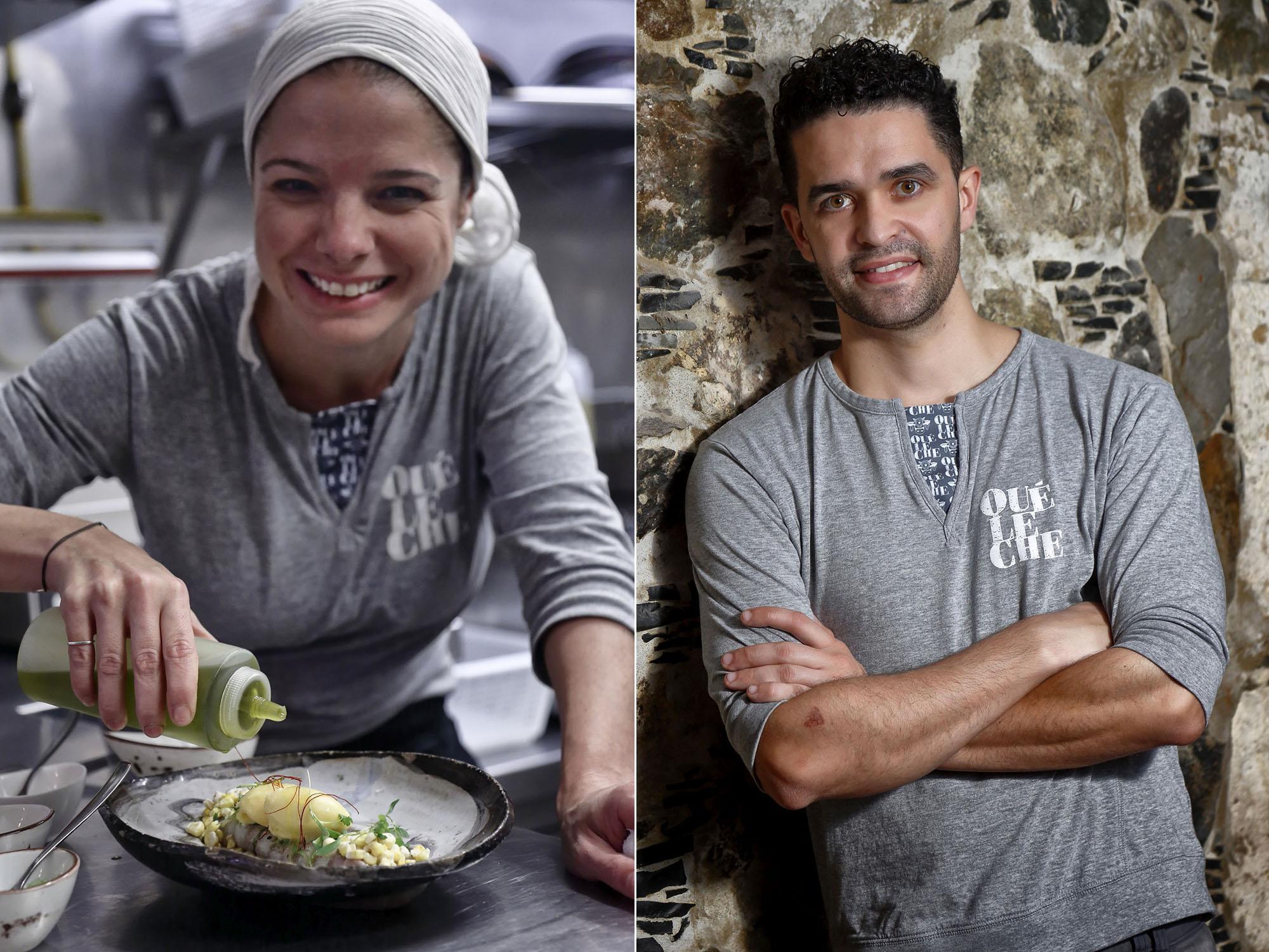 Jennise Ferrari y Mario Rodríguez Ureña, pareja dentro y fuera del Qué Leche.