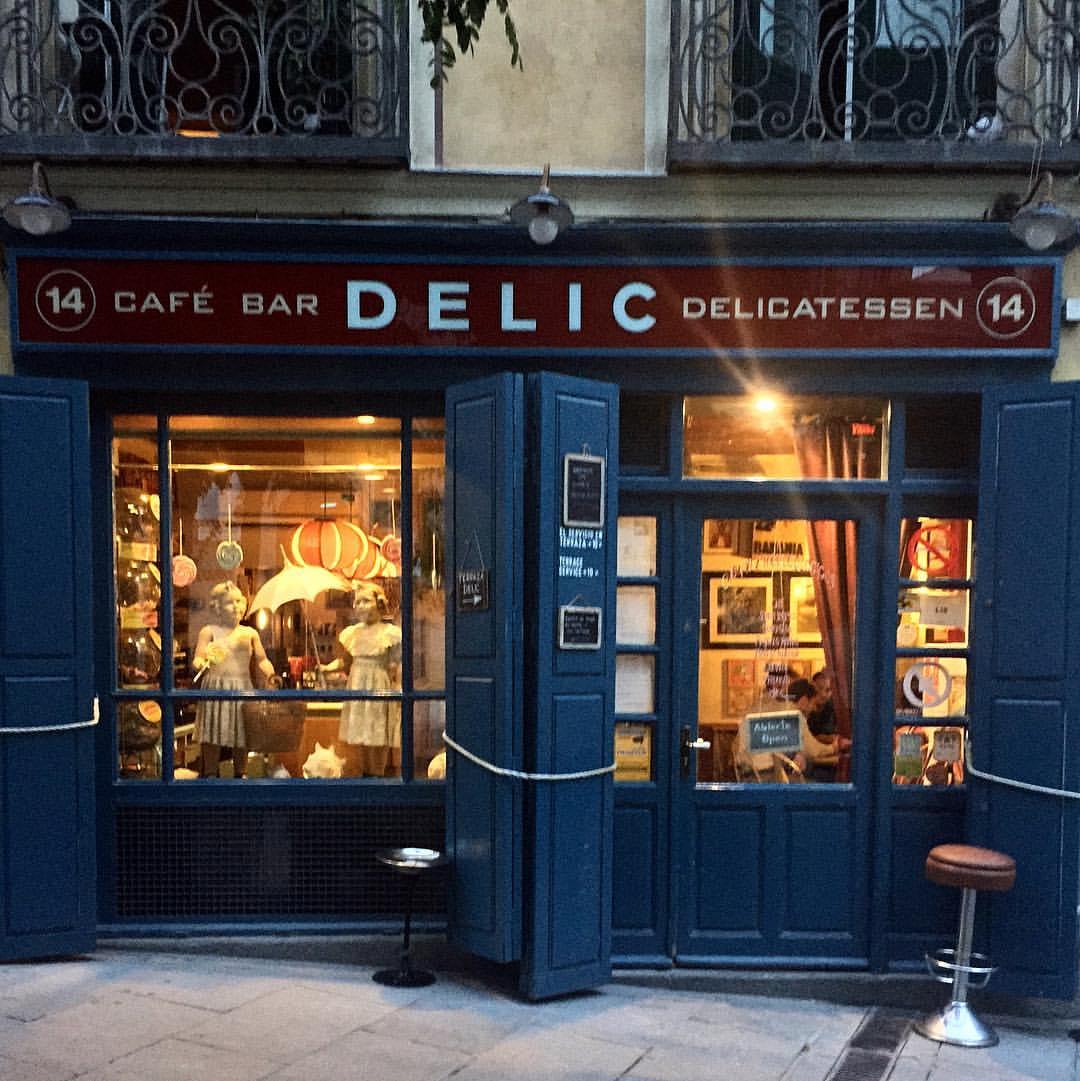 Delic, un clásico de la Latina. Foto: Delic Madrid.