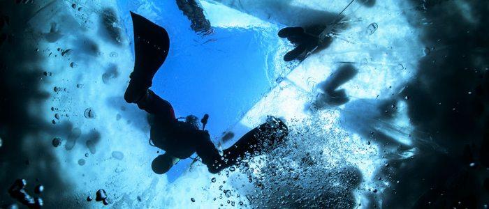 En La Molina disfrutamos de la superficie esquiando y de las profundidades heladas.