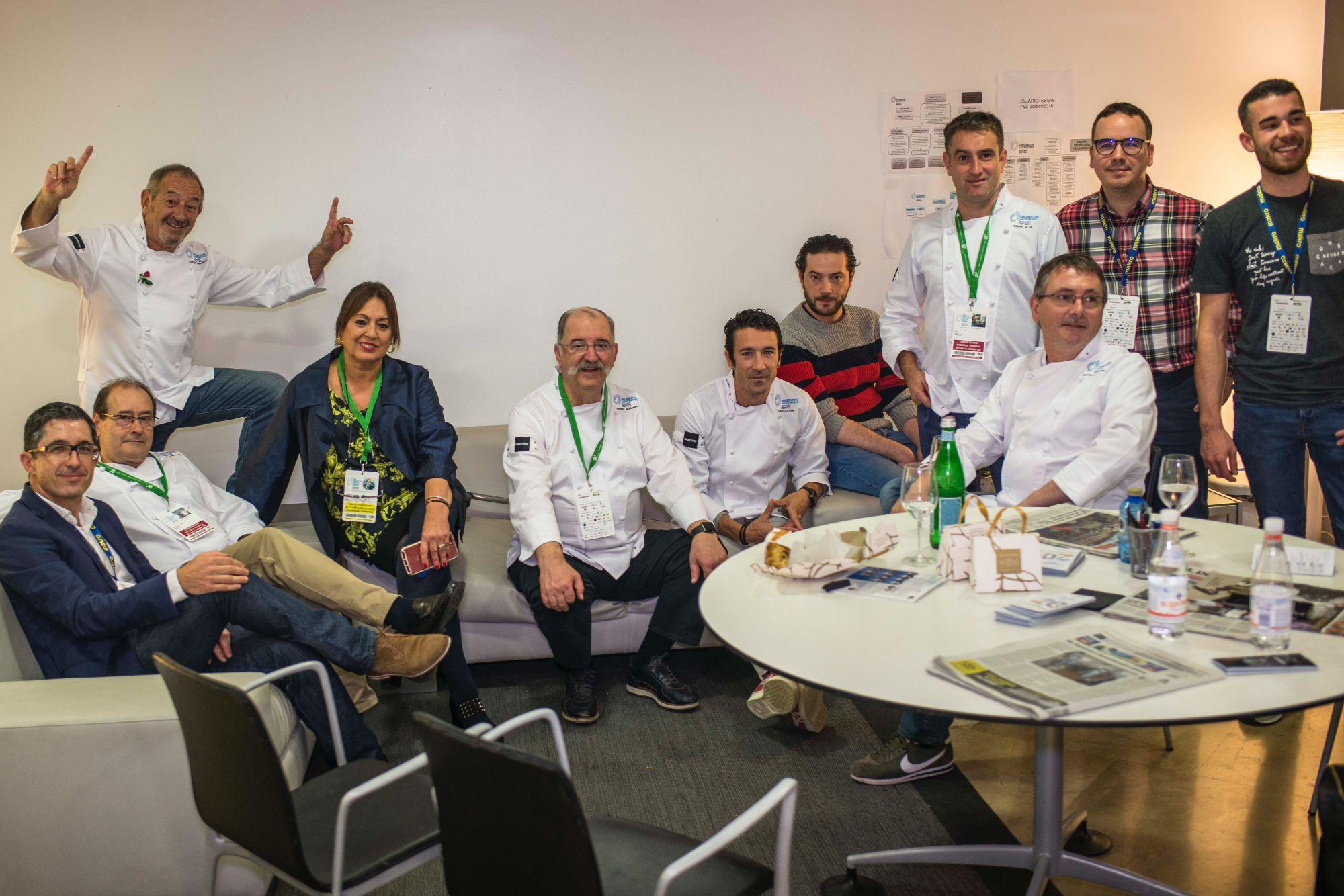 Gastronomika 2018: sala de ponentes con Roser Torra