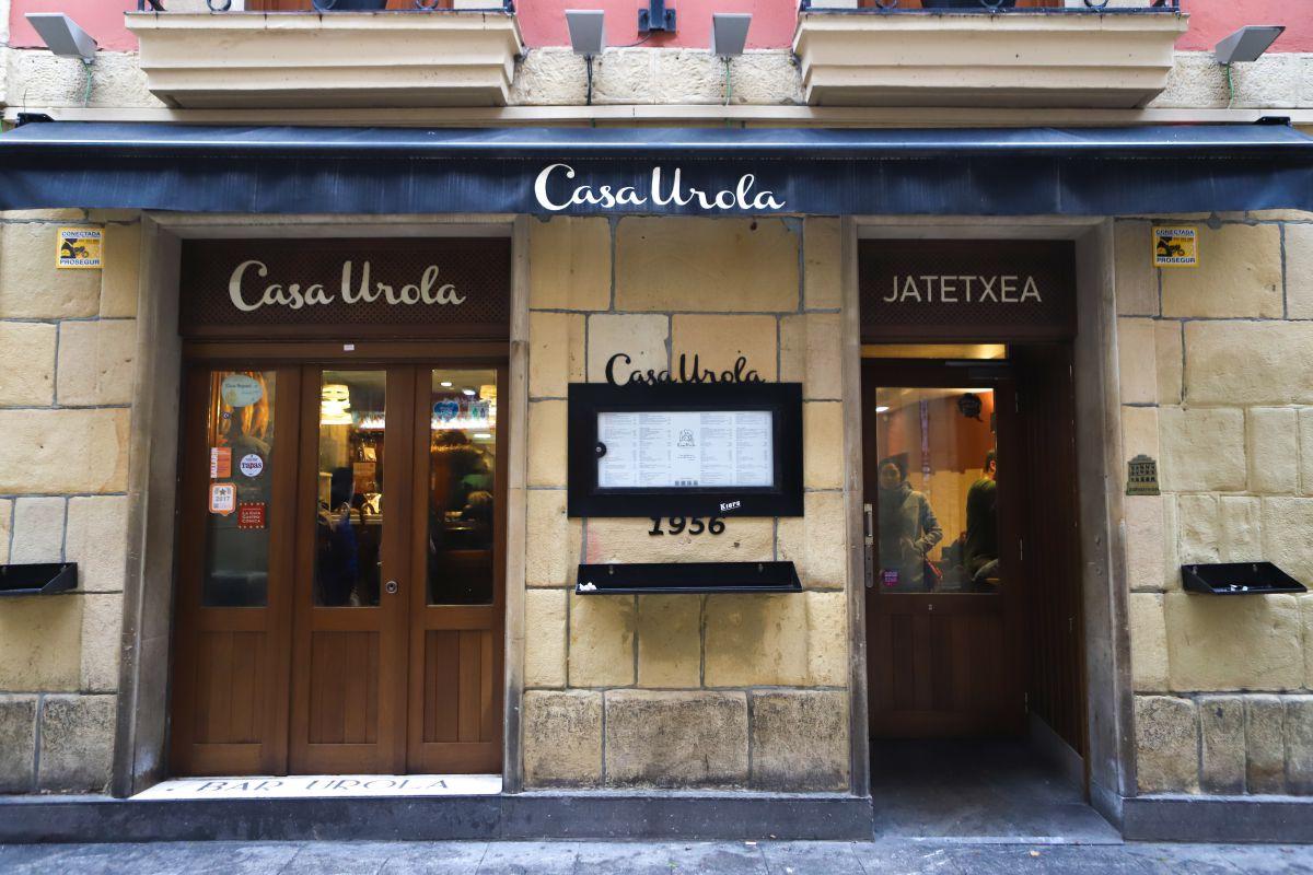 El restaurante es ya un clásico de la parte vieja de Donostia.