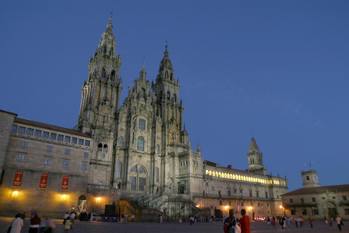 Obradoiro. Foto: Santiago Turismo.
