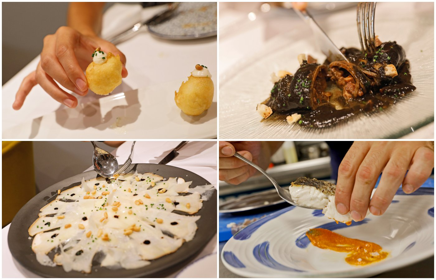 Restaurante Yarza: platos