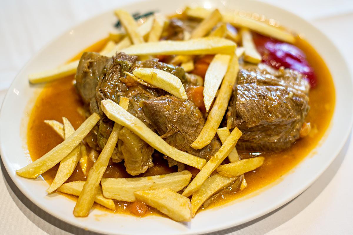 Restaurante Asturianos. Carne. Foto: Alfredo Cáliz