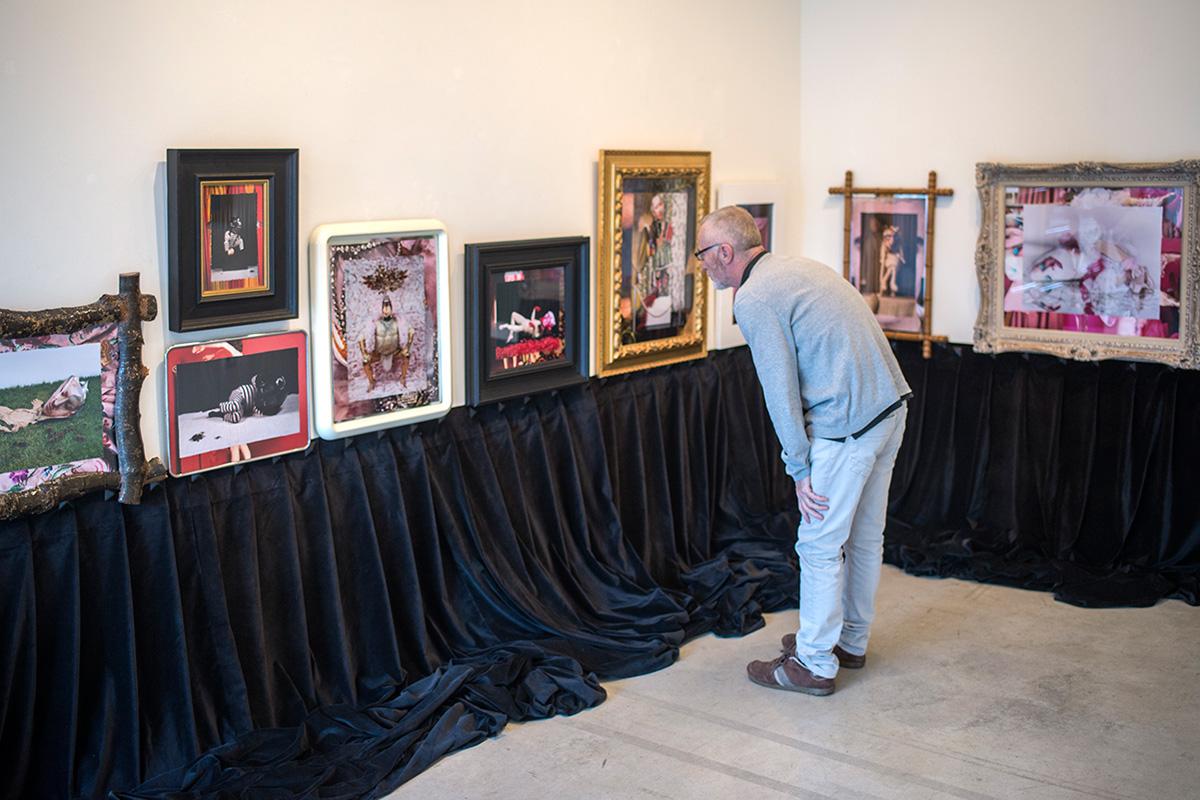 Exposición de Eduardo Sourrouille en Espacio Marzana.