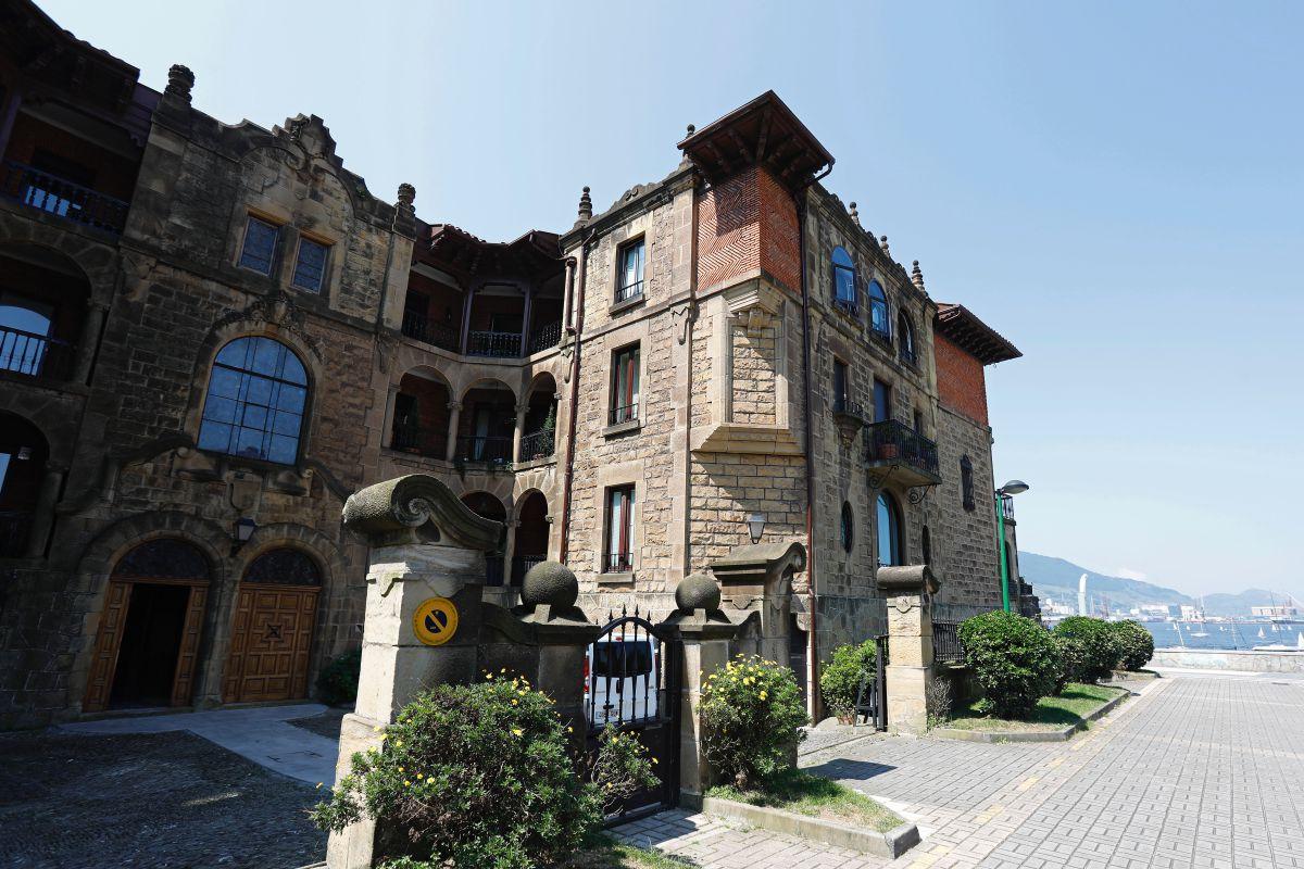 El edificio Bidearte, en Getxo, Vizcaya.