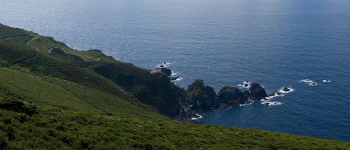 Faro cerca de Cedeira.