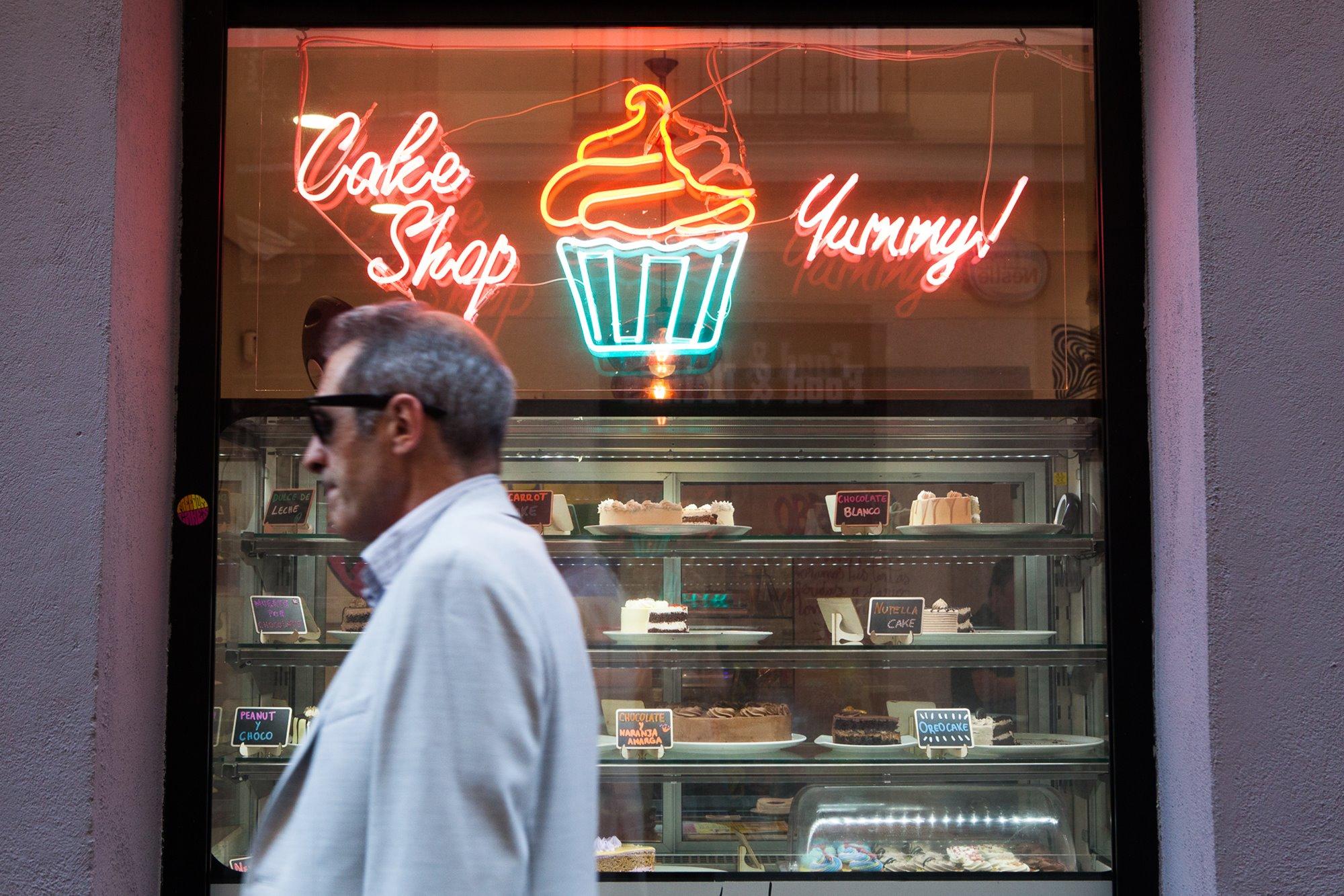 'Freedom Cakes' es un sitio especializado en postres americanos sin rastro de producto animal.