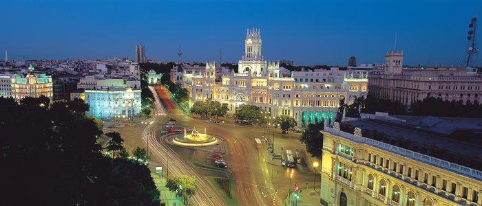 Madrid de noche. Foto: Comunidad de Madrid
