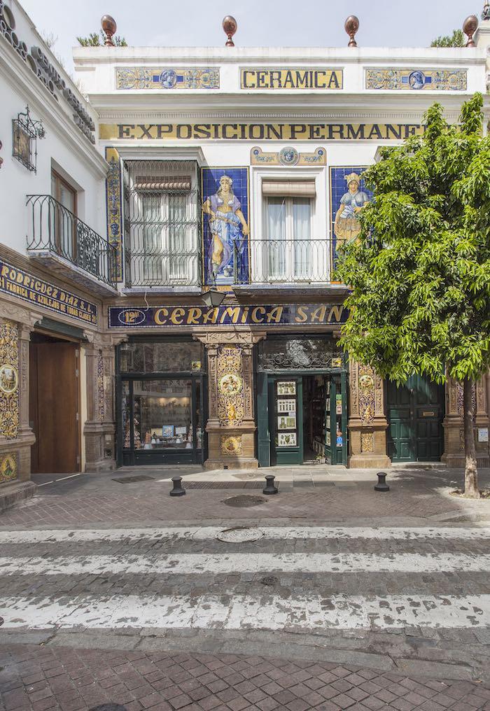 Exterior de la antigua Fábrica de Cerámica Santa Ana. Foto: Beto Criado.