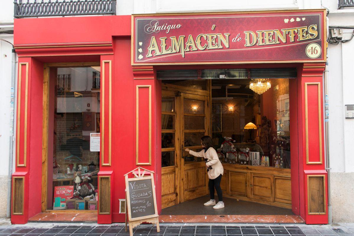 Antiguo Almacén de dientes del Ratoncito Pérez en Valencia