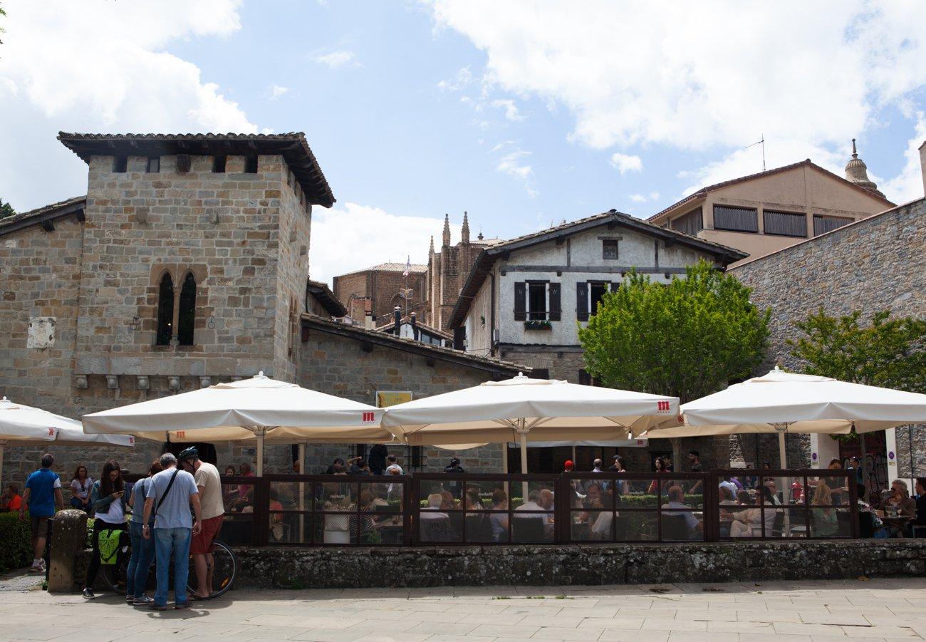 Pamplona - El Redín (terraza)