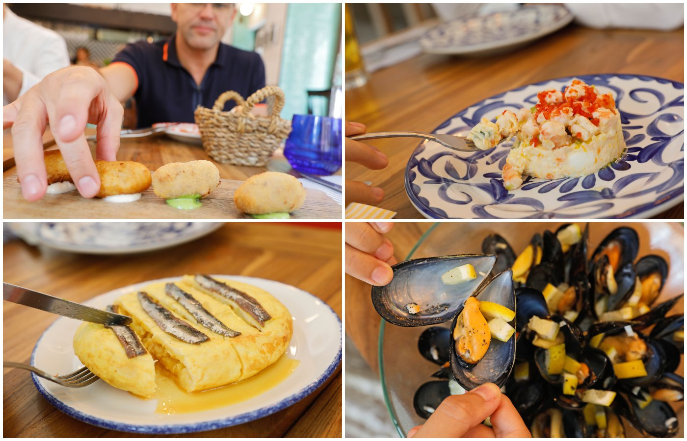 Restaurante El Rincón del Mercado (Valencia): platos