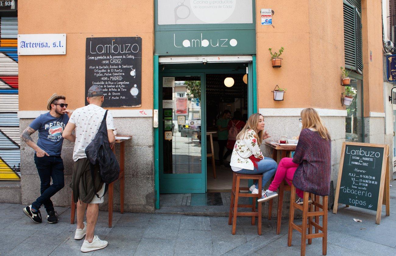'Lambuzo': entrada