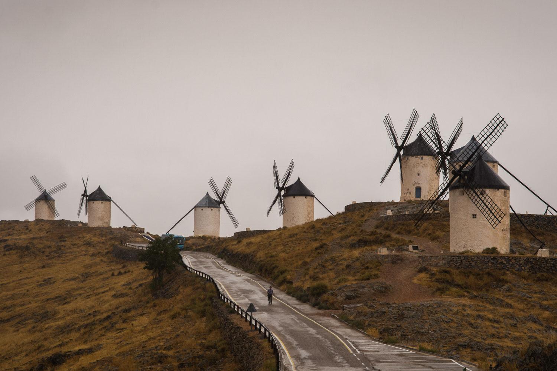 Los molinos de Consuegra. Foto: Manuel Ruiz.