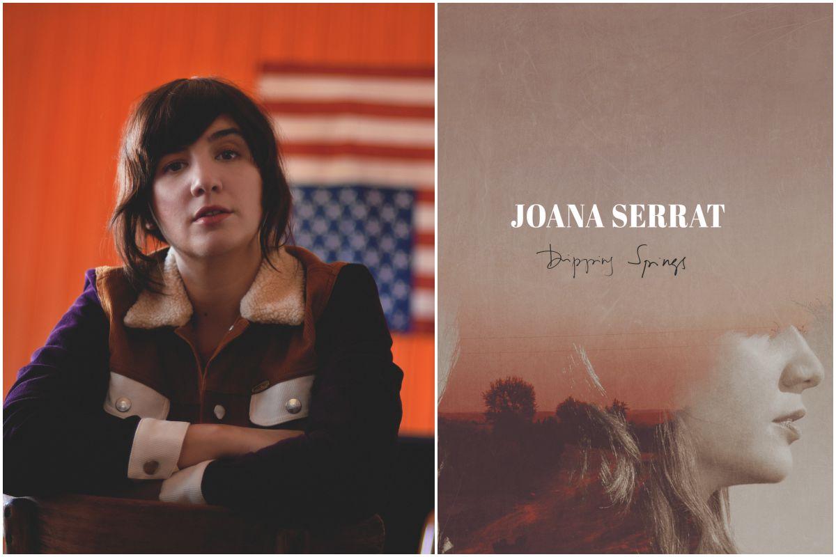 Portada del disco de Joana Serrat y una foto de la artista. Fotos: Facebook.