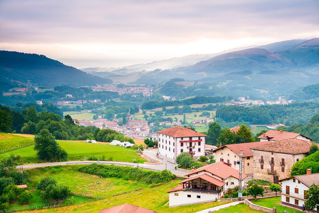Un valle que enamora, El Baztán. Foto: Shutterstock.