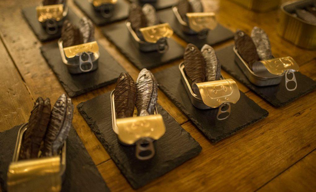 Postre ganador de David Cristobal de la pastelería Cercadillo.