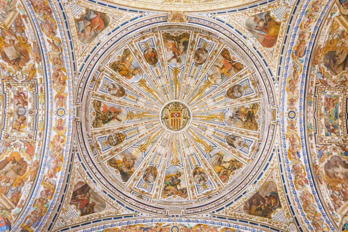 Detalle de la cúpula del antiguo convento de La Merced, hoy sede del Museo de Bellas Artes de Sevilla.