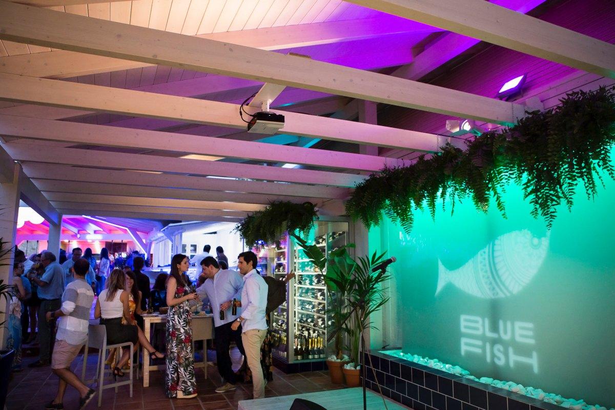 """'Blue Fish' es un concepto 360º que comprende un """"Gastronomía, diversión y música"""". Foto: Blue Fish."""