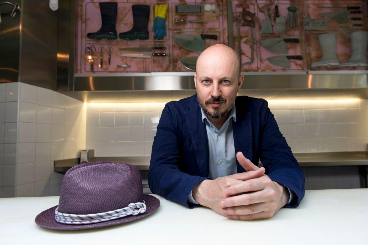 Javier Bonet, propietario de 'Sala de Despiece'. Foto: Alfredo Arias.