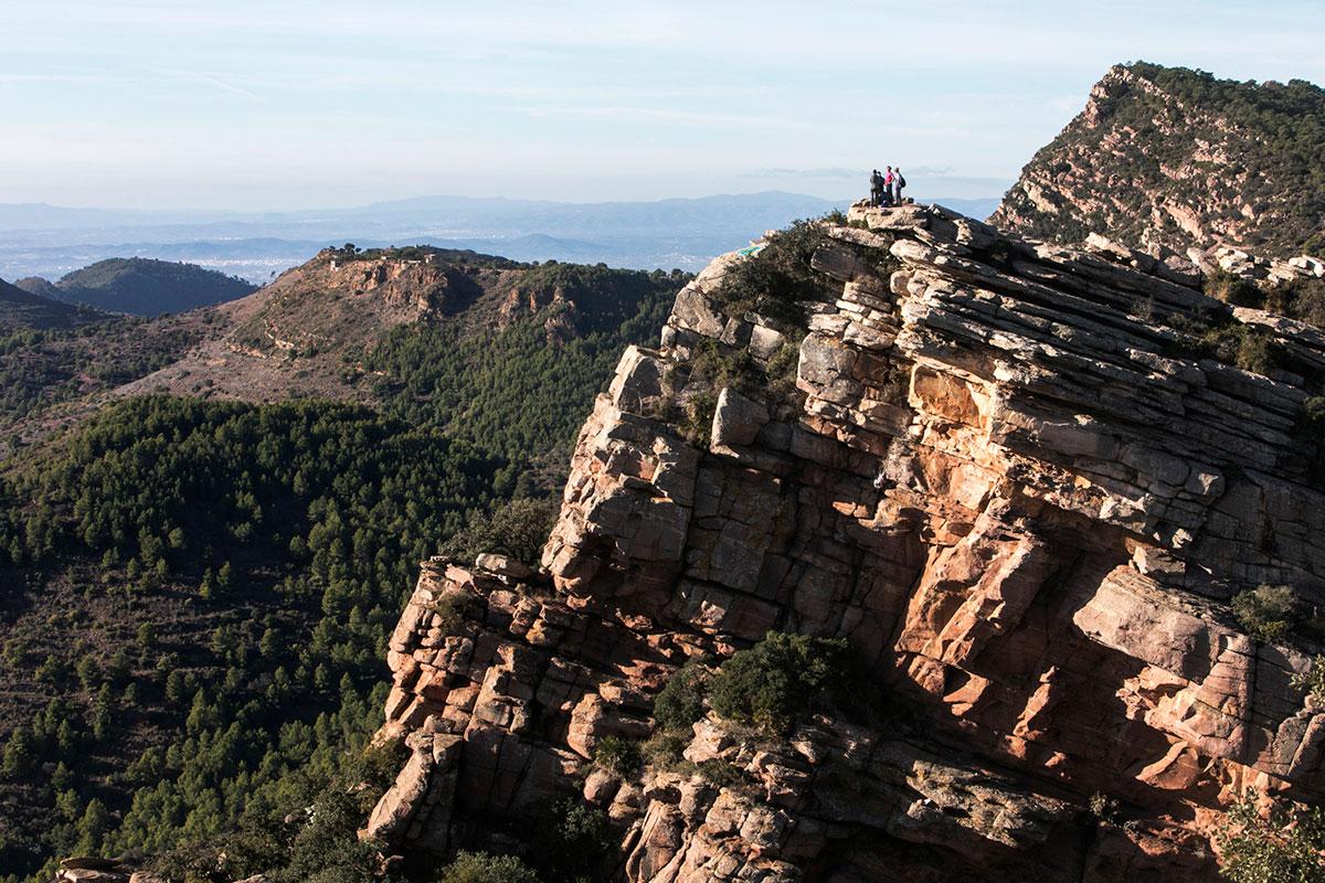 Las vistas desde lo alto del mirador de El Garbí.