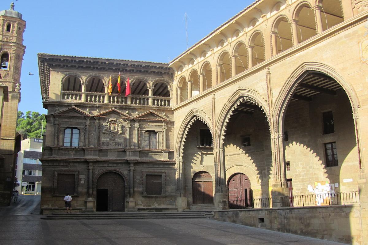 La Plaza de España. Foto: Esmeralda Gayán.